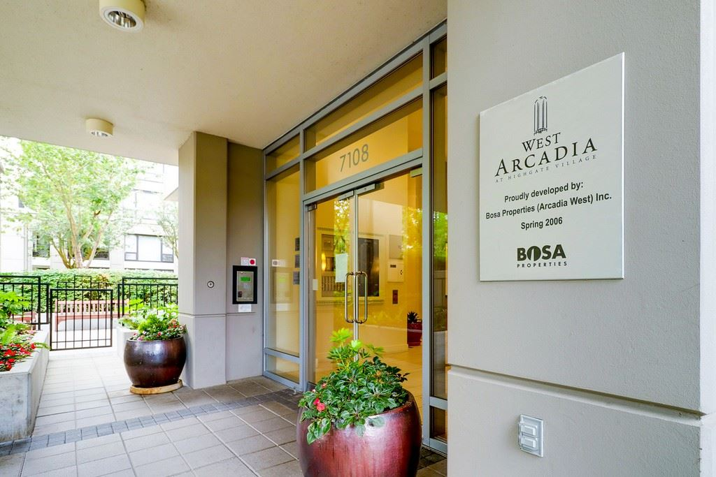 "Photo 2: 605 7108 COLLIER Street in Burnaby: Highgate Condo for sale in ""ARCADIA WEST"" (Burnaby South)  : MLS® # R2204751"
