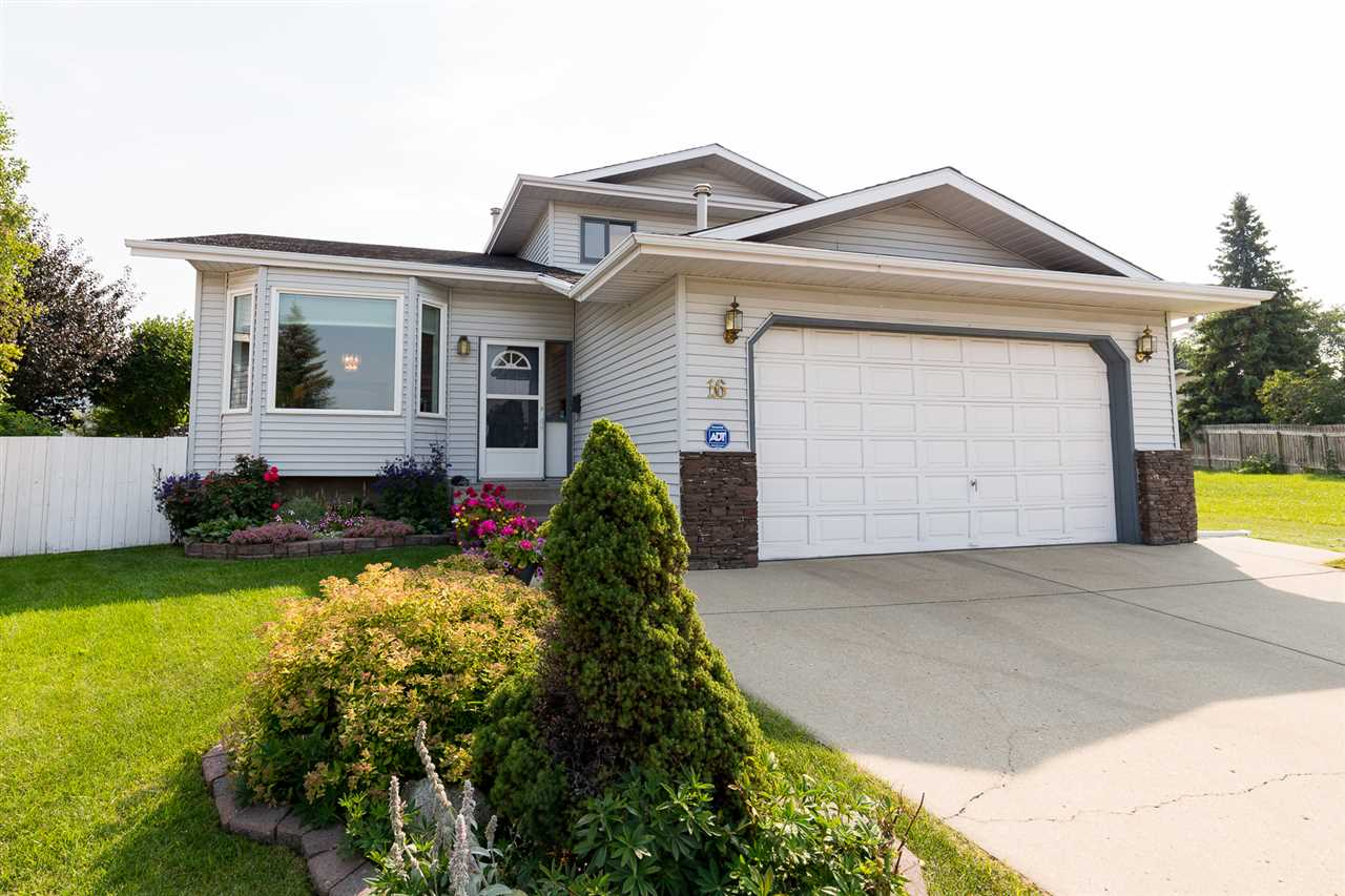 Main Photo: 16 GREENOCH Crescent in Edmonton: Zone 29 House for sale : MLS® # E4082841
