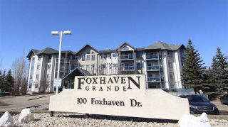 Main Photo: 118 100 Foxhaven Drive: Sherwood Park Condo for sale : MLS®# E4092812