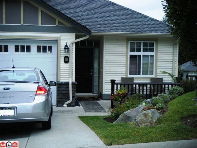 "Main Photo: 18 36260 MCKEE Road in Abbotsford: Abbotsford East Townhouse for sale in ""King's Gate"" : MLS®# F1122177"