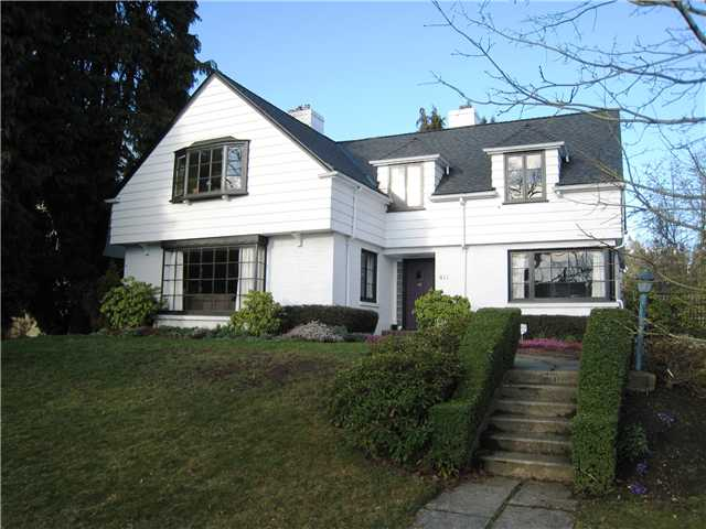 Main Photo: 411 SECOND Street in New Westminster: Queens Park House for sale : MLS® # V1051972