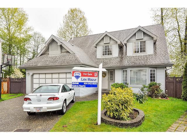 Main Photo: 2426 MARIANA Place in Coquitlam: Cape Horn House for sale : MLS® # V1058904