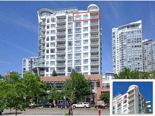 "Main Photo: 1607 189 DAVIE Street in Vancouver: Yaletown Condo for sale in ""AQUARIUS III"" (Vancouver West)  : MLS®# V1120609"