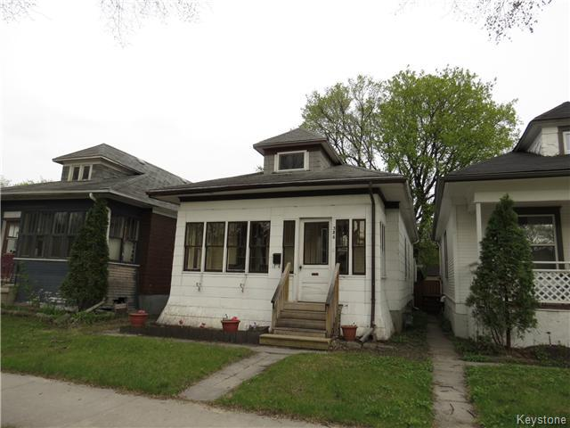Main Photo: 386 Morley Avenue in WINNIPEG: Manitoba Other Residential for sale : MLS® # 1512453