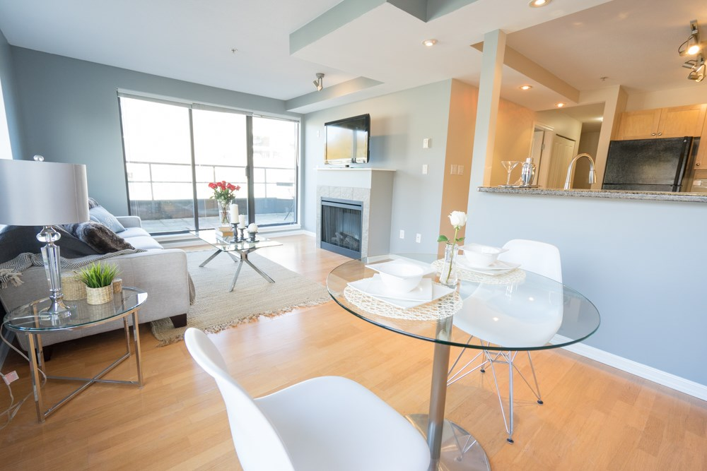 "Photo 4: 407 997 W 22ND Avenue in Vancouver: Cambie Condo for sale in ""THE CRESCENT"" (Vancouver West)  : MLS(r) # R2011235"