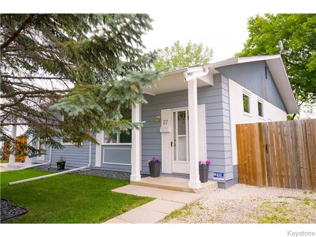 Main Photo: 37 Gowler Road in Winnipeg: Westwood / Crestview Residential for sale (West Winnipeg)  : MLS® # 1617177