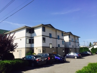 "Main Photo: 109 7435 SHAW Avenue in Sardis: Sardis East Vedder Rd Condo for sale in ""TIMBERLAND APARTMENTS"" : MLS® # R2145376"