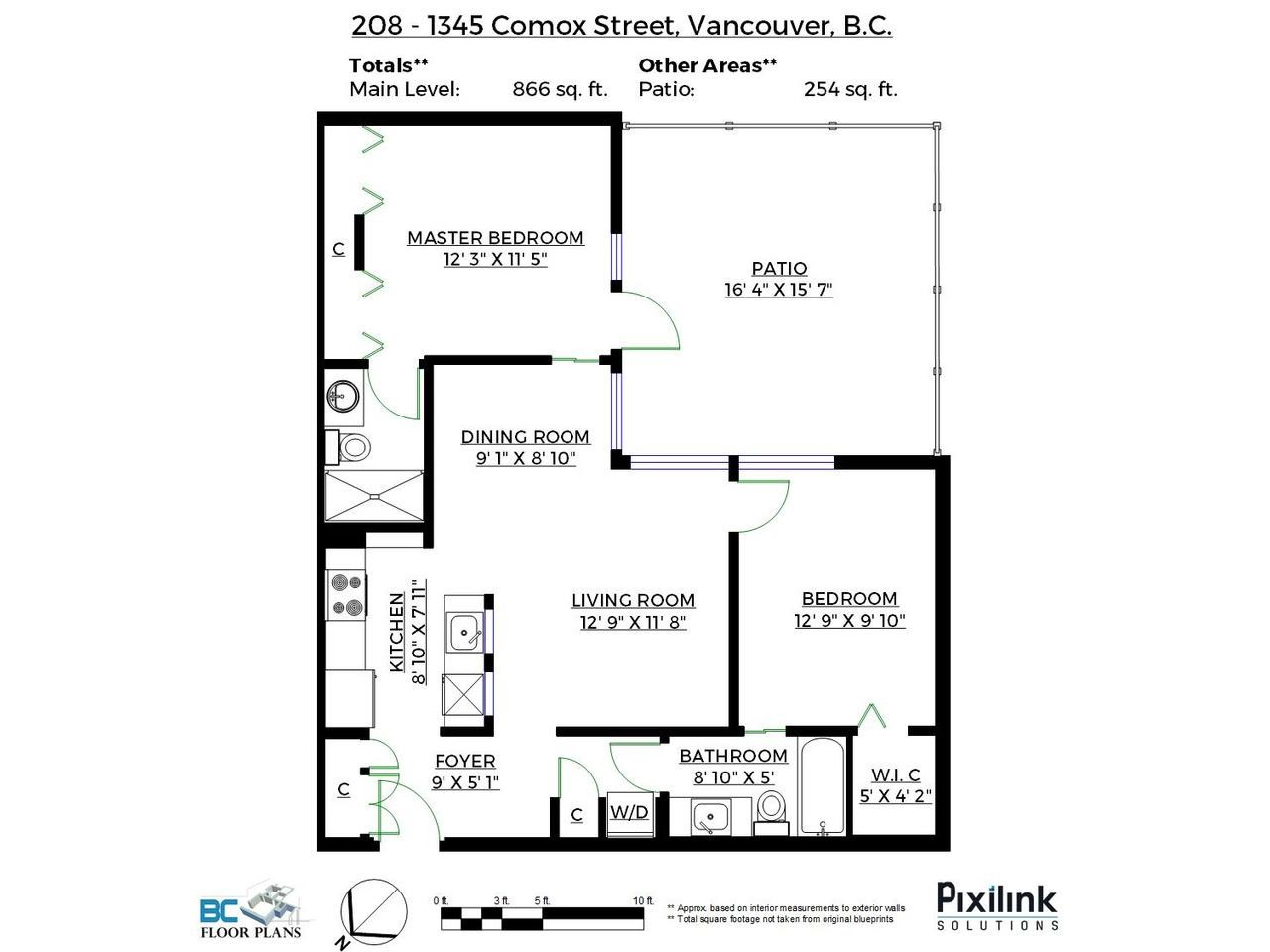 Main Photo: 208 1345 COMOX STREET in Vancouver: West End VW Condo for sale (Vancouver West)  : MLS® # R2156986