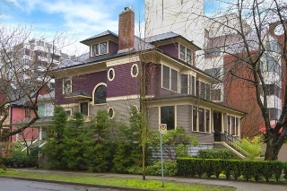 Main Photo: 1685 NELSON Street in Vancouver: West End VW House for sale (Vancouver West)  : MLS(r) # R2175907