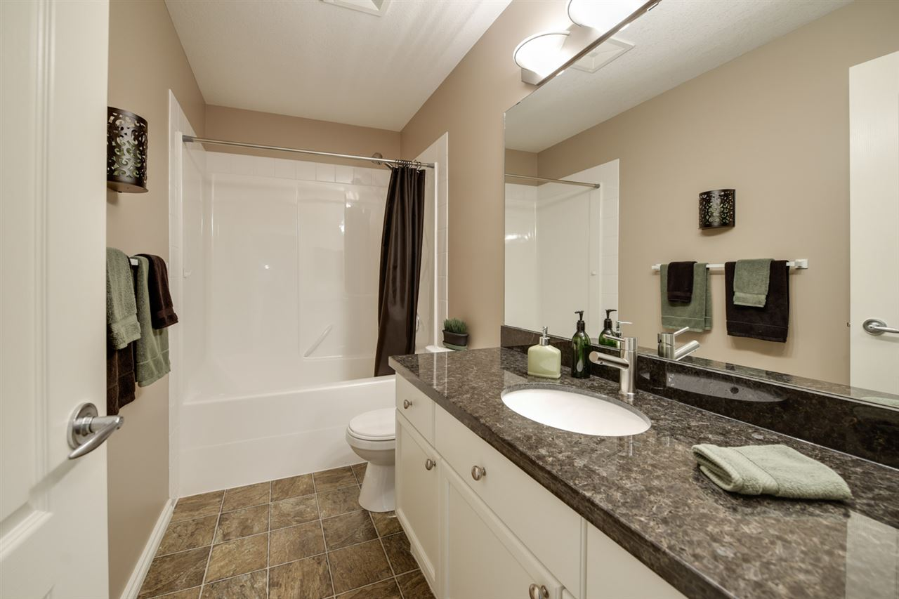 Bright and large bathroom
