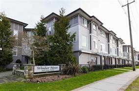 "Main Photo: 47 1010 EWEN Avenue in New Westminster: Queensborough Townhouse for sale in ""WINDSOR MEWS"" : MLS®# R2183779"
