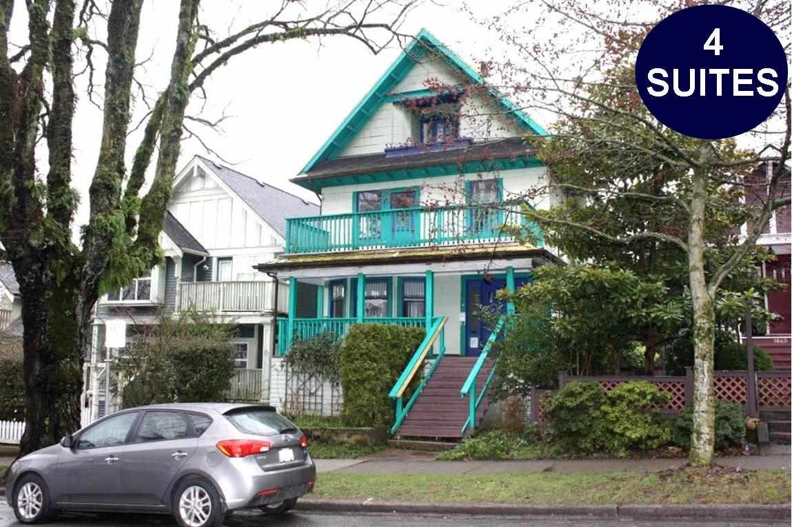 Main Photo: 1847 VENABLES Street in Vancouver: Hastings House for sale (Vancouver East)  : MLS(r) # R2185261