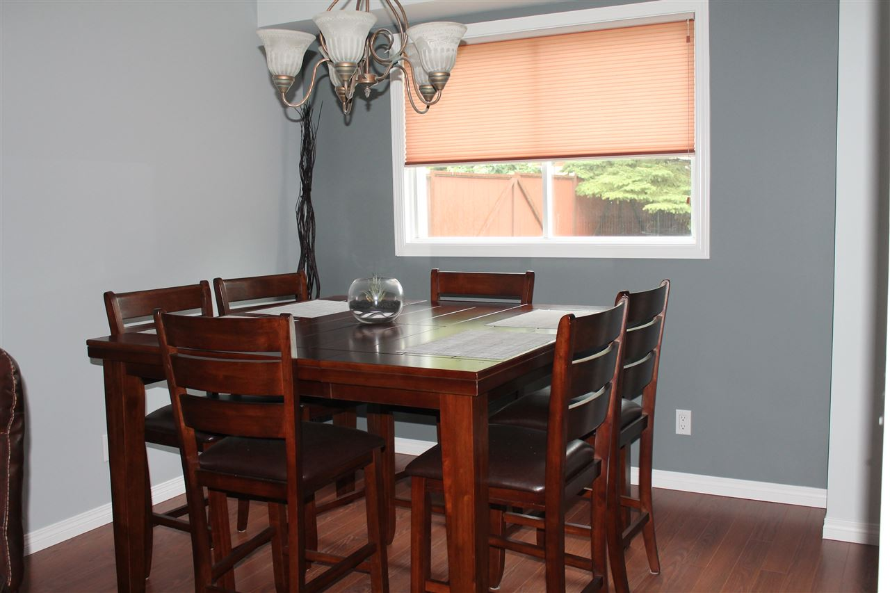 Dining Room With Laminate Flooring