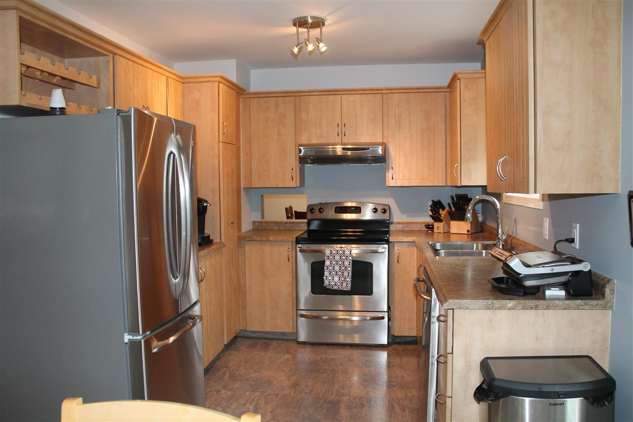Kitchen With Stainless Steel Appliances, Upgraded Cupboards