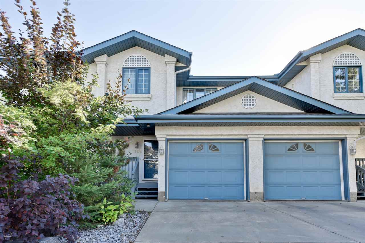 Main Photo: 105 Bulyea Road in Edmonton: Zone 14 Townhouse for sale : MLS® # E4078938
