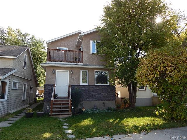 Main Photo: 269 Brooklyn Street in Winnipeg: St James Residential for sale (5E)  : MLS® # 1723854