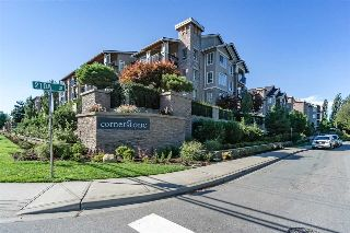 "Main Photo: 427 21009 56 Avenue in Langley: Salmon River Condo for sale in ""CORNERSTONE"" : MLS® # R2215302"