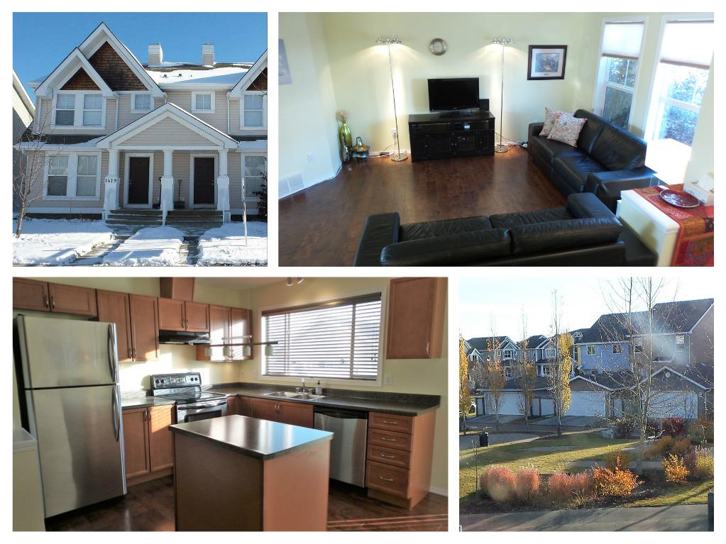 Main Photo: 1421 75 Street in Edmonton: Zone 53 House Half Duplex for sale : MLS® # E4086491