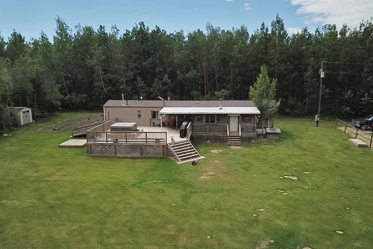 Main Photo: 272061 Twp 480: Rural Wetaskiwin County Manufactured Home for sale : MLS®# E4116153