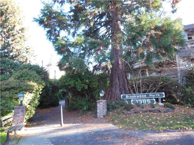 "Main Photo: 413 1385 DRAYCOTT Road in North Vancouver: Lynn Valley Condo for sale in ""Brookwood North"" : MLS®# V1036601"