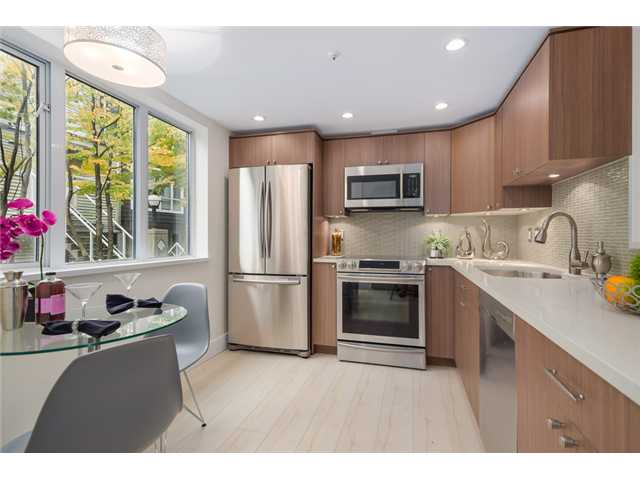 "Main Photo: 101 789 W 16TH Avenue in Vancouver: Fairview VW Condo for sale in ""Sixteen Willows"" (Vancouver West)  : MLS® # V1087603"