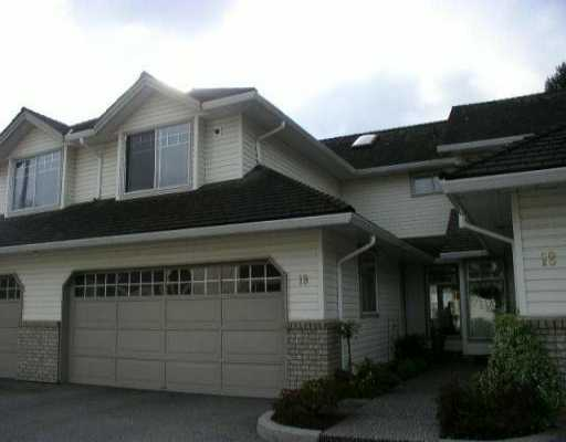 "Main Photo: 19 19051 119TH AV in Pitt Meadows: Central Meadows Townhouse for sale in ""PARK MEADOW ESTATES"" : MLS® # V526326"