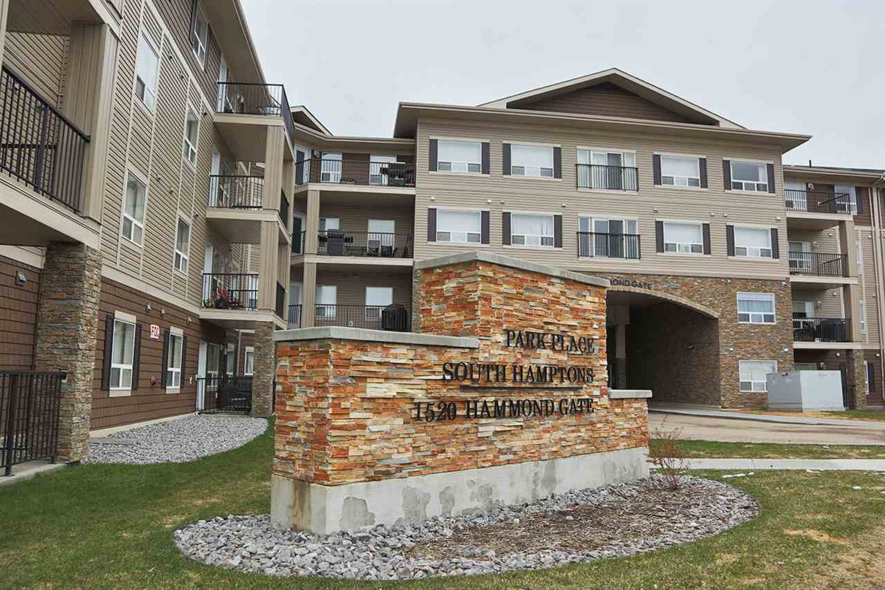 Main Photo: 138 1520 HAMMOND Gate in Edmonton: Zone 58 Condo for sale : MLS(r) # E4063474