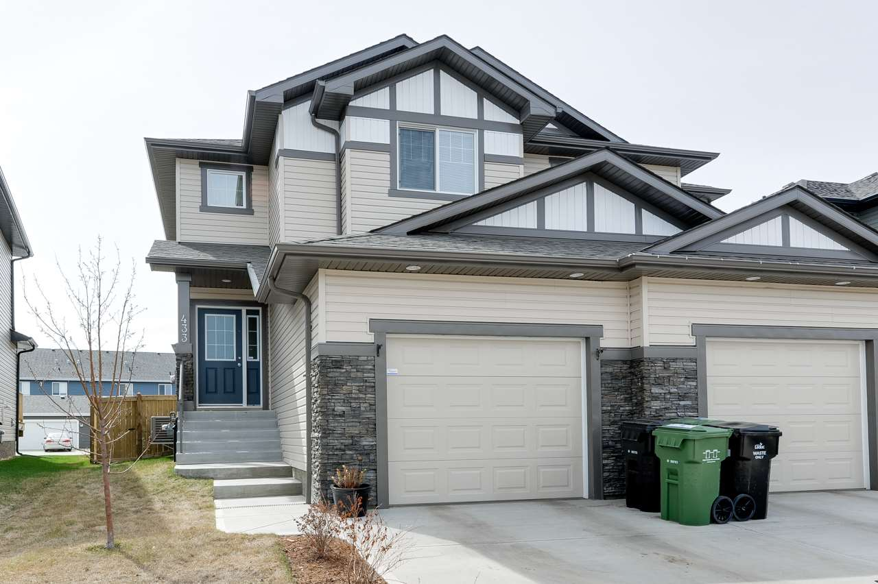 Main Photo: 433 REED Crescent: Leduc House Half Duplex for sale : MLS® # E4066861