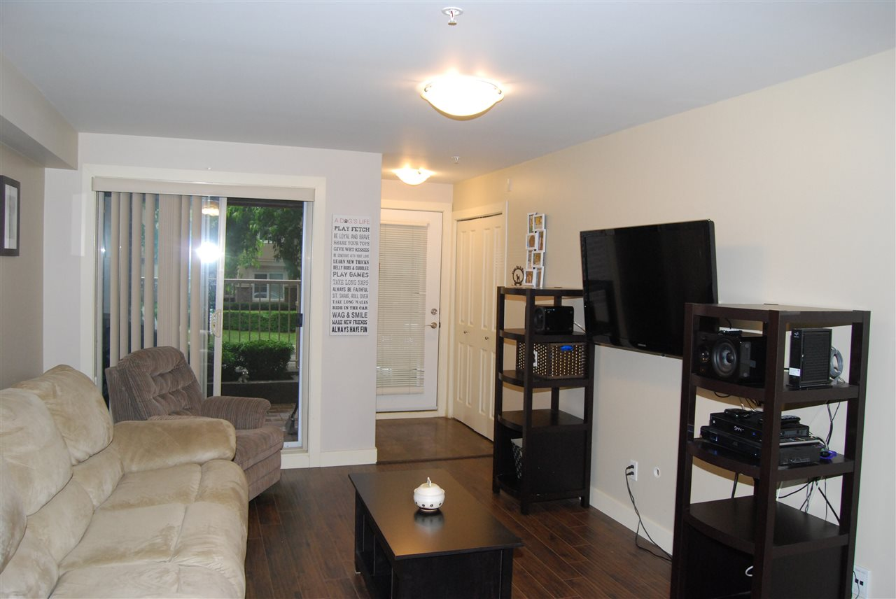 "Photo 2: 104 2228 WELCHER Avenue in Port Coquitlam: Central Pt Coquitlam Condo for sale in ""STATION HILL"" : MLS® # R2178613"