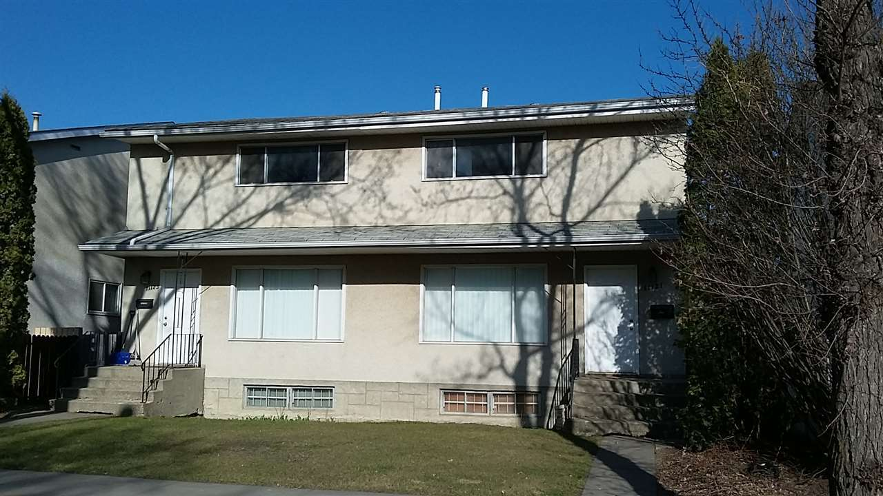 Main Photo: 11121 & 11123 130 Street in Edmonton: Zone 07 House Duplex for sale : MLS® # E4070609