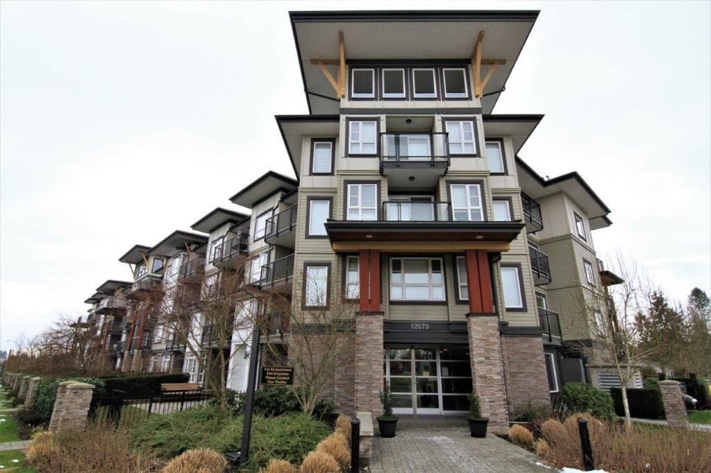 "Main Photo: 102 12075 EDGE Street in Maple Ridge: West Central Condo for sale in ""EDGE ON EDGE"" : MLS® # R2239493"