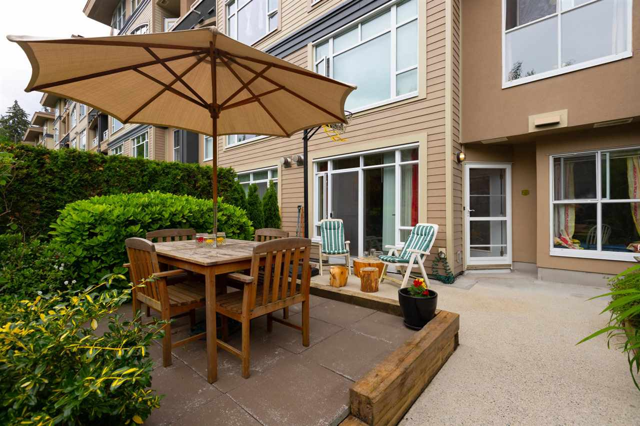 "Main Photo: 203 3600 WINDCREST Drive in North Vancouver: Roche Point Condo for sale in ""WINDSONG AT RAVENWOODS"" : MLS®# R2277317"