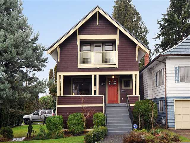 Main Photo: 907 RINGWOOD Avenue in Vancouver: Fraser VE House for sale (Vancouver East)  : MLS®# V923824