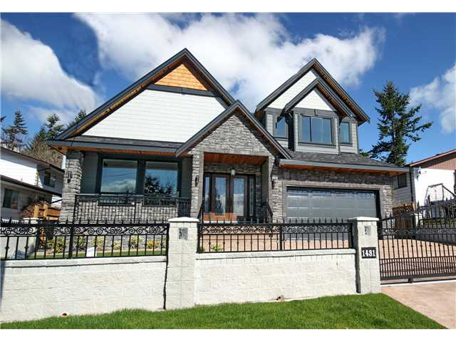 "Main Photo: 1431 KING ALBERT Avenue in Coquitlam: Central Coquitlam House for sale in ""Central Coquitlam"" : MLS® # V1054380"