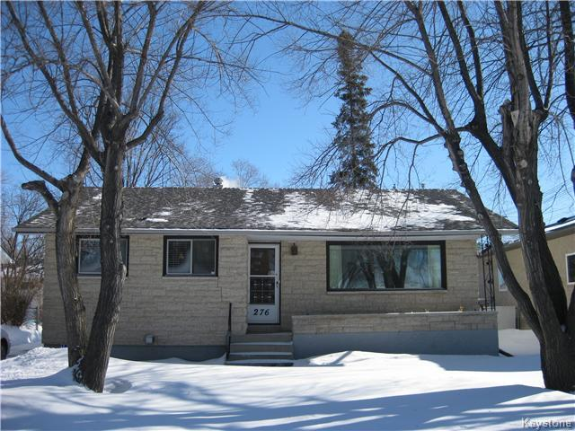 Main Photo: 276 Speers Road in Winnipeg: Windsor Park / Southdale / Island Lakes Residential for sale (South East Winnipeg)  : MLS® # 1604236