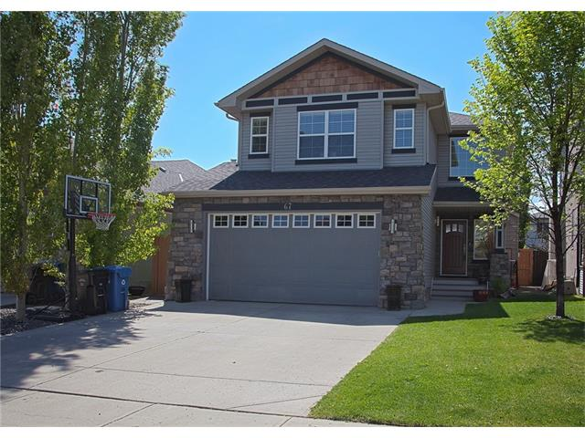 Main Photo: 67 CHAPMAN Way SE in Calgary: Chaparral House for sale : MLS® # C4065212