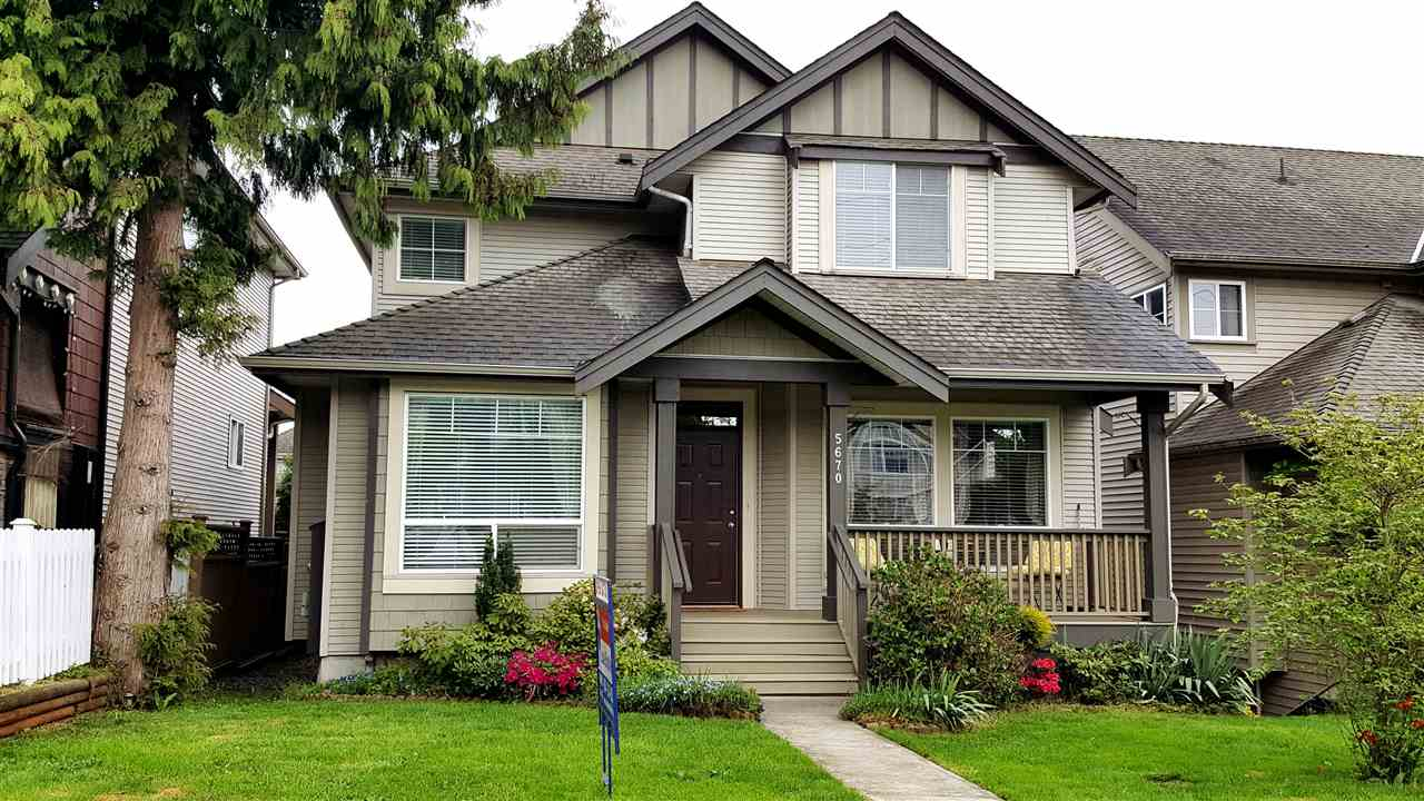 "Main Photo: 5670 148 Street in Surrey: Sullivan Station House for sale in ""PANORAMA VILLAGE"" : MLS® # R2162981"