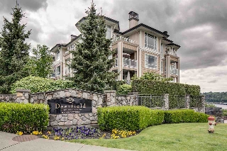 "Main Photo: 419 3629 DEERCREST Drive in North Vancouver: Roche Point Condo for sale in ""DEERFIELD BY THE SEA"" : MLS® # R2165310"