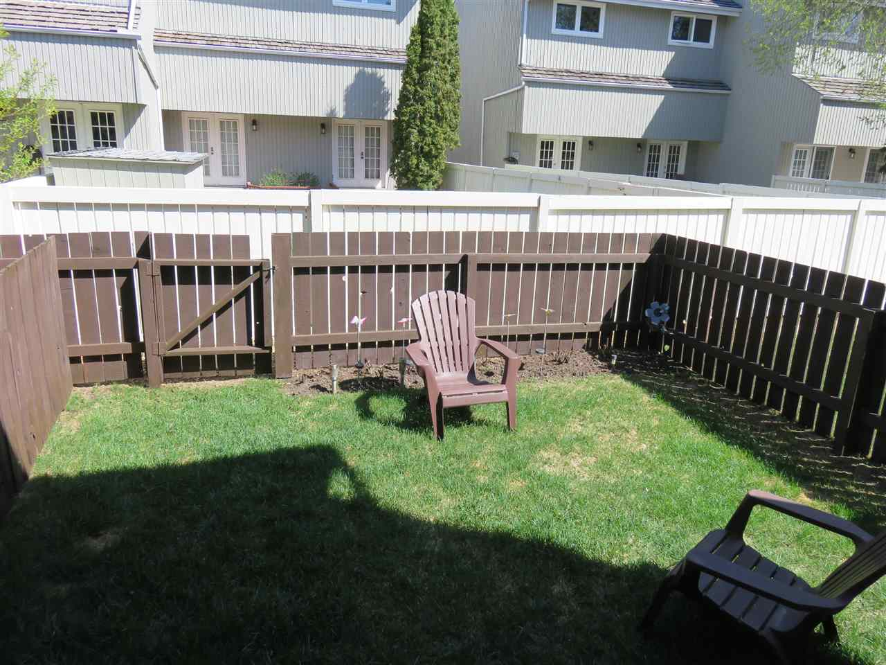 View of your beautiful fully fenced backyard! :)