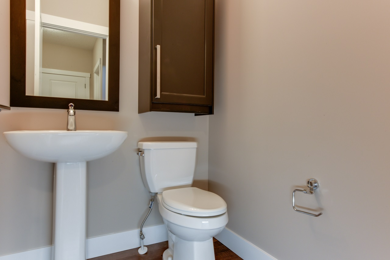 2 pc. main floor powder room