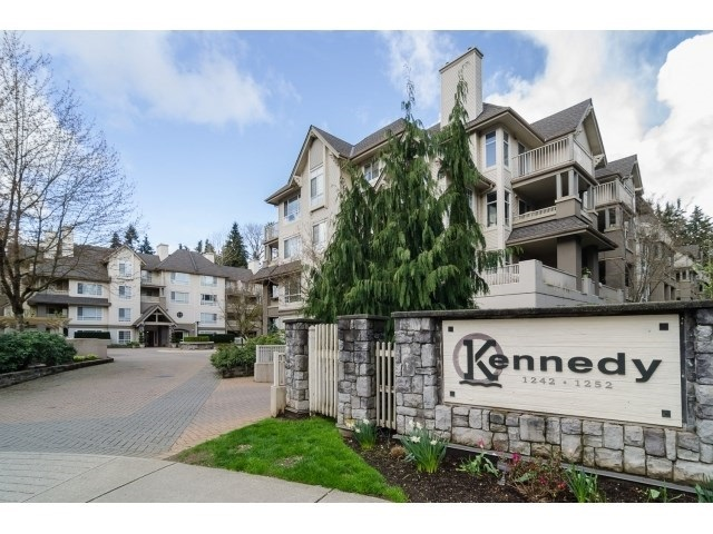 "Main Photo: 209 1242 TOWN CENTRE Boulevard in Coquitlam: Canyon Springs Condo for sale in ""THE KENNEDY"" : MLS(r) # R2182505"