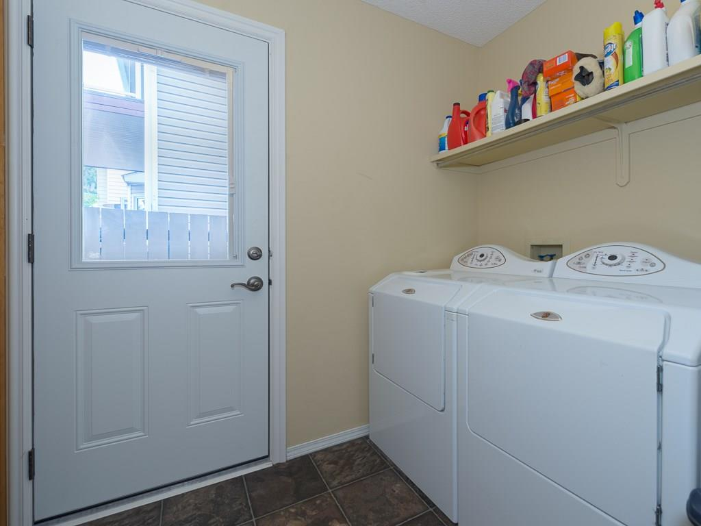 Laundry is conveniently located on the main floor.