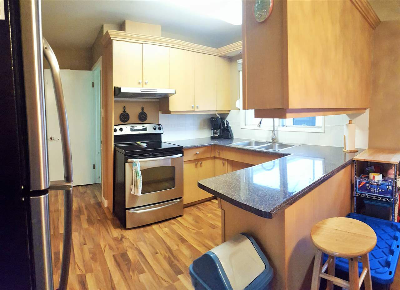 Beautiful updated kitchen with stainless steel appliances!