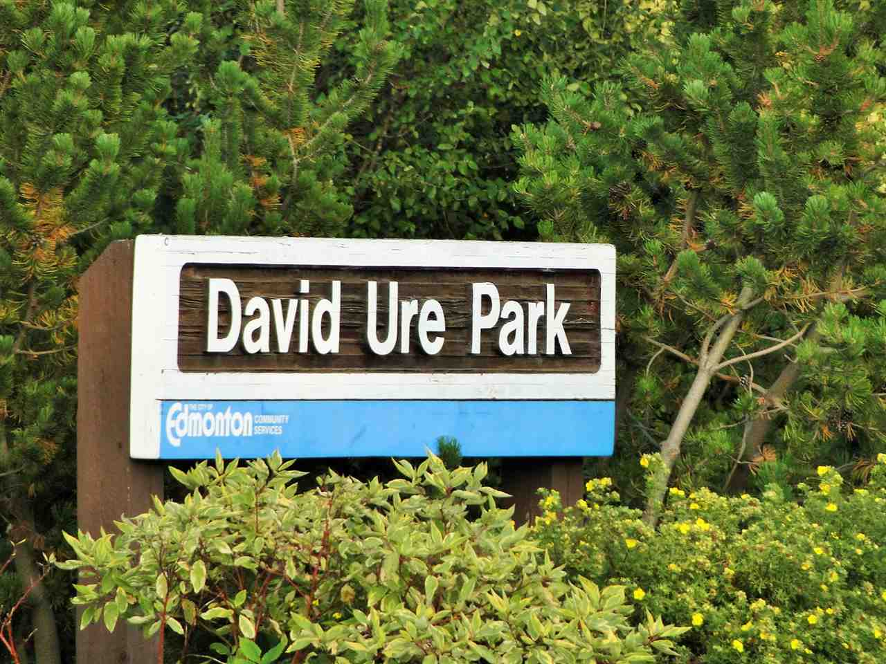 David Ure Park right across the road!