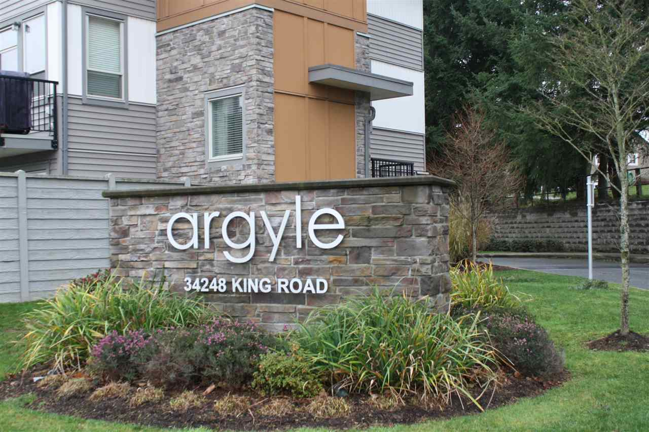 "Main Photo: 48 34248 KING Road in Abbotsford: Abbotsford East Townhouse for sale in ""THE ARGYLE"" : MLS® # R2020713"