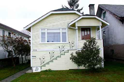 Main Photo: 2850 MCGILL STREET in : Hastings East House for sale : MLS® # V287442