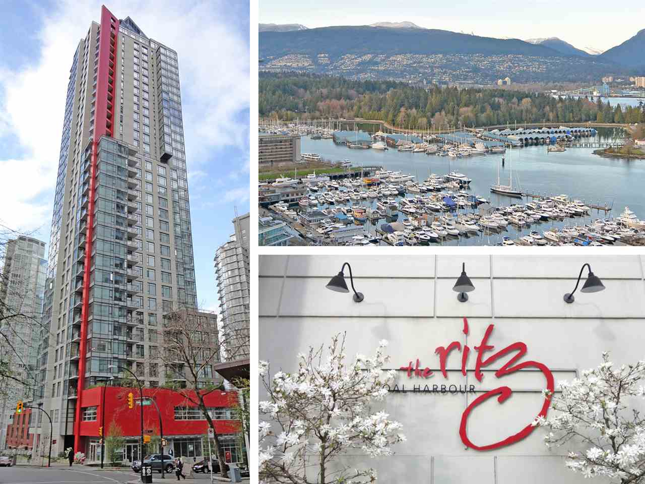 "Main Photo: 2402 1211 MELVILLE Street in Vancouver: Coal Harbour Condo for sale in ""THE RITZ"" (Vancouver West)  : MLS(r) # R2121380"