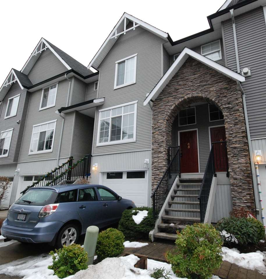 "Main Photo: 68 8881 WALTERS Street in Chilliwack: Chilliwack E Young-Yale Townhouse for sale in ""EDEN PARK"" : MLS® # R2128253"