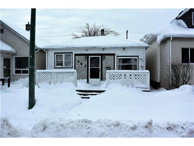 Main Photo: 442 Martin Avenue West in Winnipeg: Elmwood Residential for sale (3A)  : MLS®# 1700242