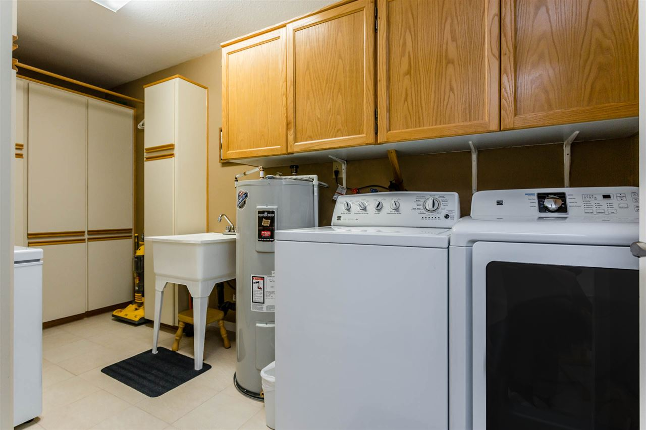 Laundry Room with tons of extra storage!